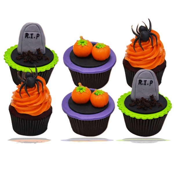 Halloween Cup Cake (06 pieces)
