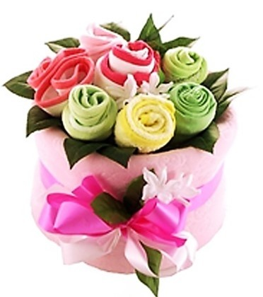 Baby Girl Arrival Bouquet