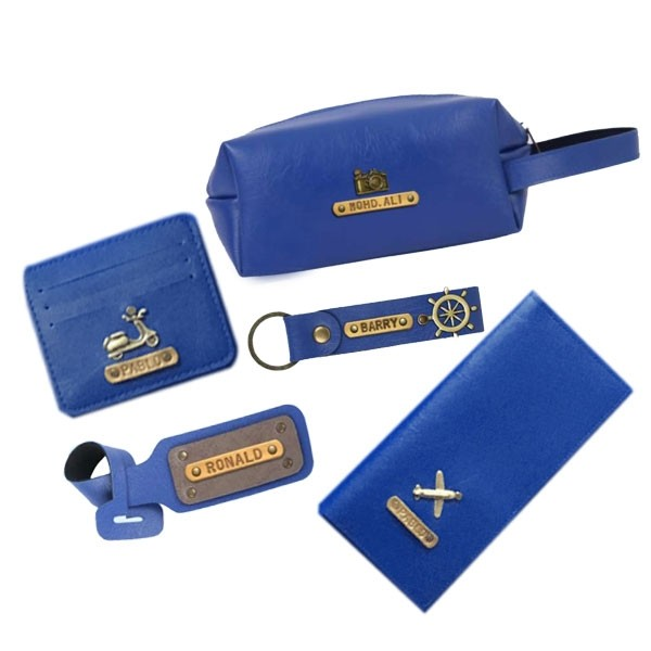 Personalized Travelers Pack Gift Set