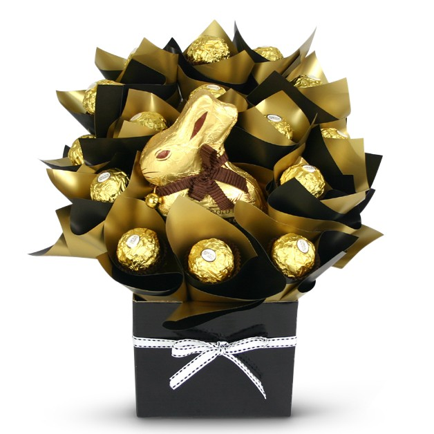 Lindt Bunny Easter Bouquet
