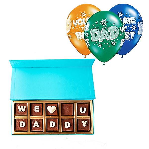 Father's Day Chocolate Gift Set