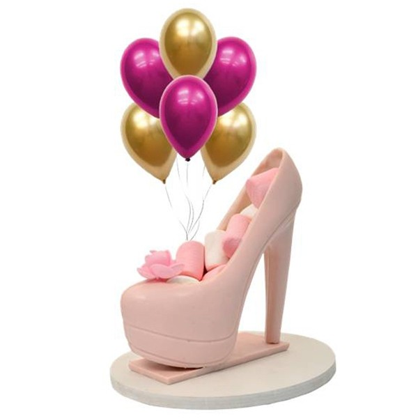 The Pretty Pink Shoe